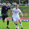 Hamilton College forward Aidan Wood (12)<br /> <br /> 10/7/17 4:04:01 PM Men's Soccer: Amherst College v Hamilton College, at Love Field, Hamilton College, Clinton, NY<br /> <br /> Final:  Amherst 0  Hamilton 0  2OT<br /> <br /> Photo by Josh McKee
