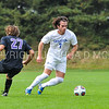 Hamilton College M Greg Milnarik (7)<br /> <br /> 10/7/17 2:05:06 PM Men's Soccer: Amherst College v Hamilton College, at Love Field, Hamilton College, Clinton, NY<br /> <br /> Final:  Amherst 0  Hamilton 0  2OT<br /> <br /> Photo by Josh McKee