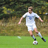 Hamilton College forward Aidan Wood (12)<br /> <br /> 10/7/17 1:59:22 PM Men's Soccer: Amherst College v Hamilton College, at Love Field, Hamilton College, Clinton, NY<br /> <br /> Final:  Amherst 0  Hamilton 0  2OT<br /> <br /> Photo by Josh McKee