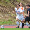 Hamilton College defender Matt Kastilahn (17)<br /> <br /> 10/7/17 2:02:18 PM Men's Soccer: Amherst College v Hamilton College, at Love Field, Hamilton College, Clinton, NY<br /> <br /> Final:  Amherst 0  Hamilton 0  2OT<br /> <br /> Photo by Josh McKee