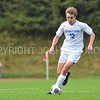 Hamilton College forward Aidan Wood (12)<br /> <br /> 10/7/17 2:04:47 PM Men's Soccer: Amherst College v Hamilton College, at Love Field, Hamilton College, Clinton, NY<br /> <br /> Final:  Amherst 0  Hamilton 0  2OT<br /> <br /> Photo by Josh McKee