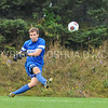 Hamilton College goalkeeper Linds Cadwell (0)<br /> <br /> 10/7/17 1:53:18 PM Men's Soccer: Amherst College v Hamilton College, at Love Field, Hamilton College, Clinton, NY<br /> <br /> Final:  Amherst 0  Hamilton 0  2OT<br /> <br /> Photo by Josh McKee