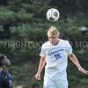 Hamilton College defender Luke Eckels (16)<br /> <br /> 10/7/17 3:55:30 PM Men's Soccer: Amherst College v Hamilton College, at Love Field, Hamilton College, Clinton, NY<br /> <br /> Final:  Amherst 0  Hamilton 0  2OT<br /> <br /> Photo by Josh McKee