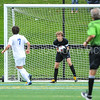 Hamilton College goalkeeper Linds Cadwell (0)<br /> <br /> 9/9/17 1:42:06 PM Men's Soccer: Bates College v Hamilton College, at Withiam Field, Hamilton College, Clinton, NY<br /> <br /> Final:  Bates 2  Hamilton 1<br /> <br /> Photo by Josh McKee