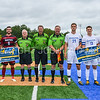 Pregame Banner, Team, Captains<br /> <br /> 9/9/17 1:33:28 PM Men's Soccer: Bates College v Hamilton College, at Withiam Field, Hamilton College, Clinton, NY<br /> <br /> Final:  Bates 2  Hamilton 1<br /> <br /> Photo by Josh McKee