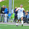 Hamilton College forward Jeffrey Plump (24)<br /> <br /> 9/9/17 1:41:30 PM Men's Soccer: Bates College v Hamilton College, at Withiam Field, Hamilton College, Clinton, NY<br /> <br /> Final:  Bates 2  Hamilton 1<br /> <br /> Photo by Josh McKee