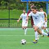 Hamilton College forward Jefri Schmidt (10)<br /> <br /> 9/9/17 1:43:02 PM Men's Soccer: Bates College v Hamilton College, at Withiam Field, Hamilton College, Clinton, NY<br /> <br /> Final:  Bates 2  Hamilton 1<br /> <br /> Photo by Josh McKee