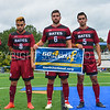 Bates Banner<br /> <br /> 9/9/17 1:30:10 PM Men's Soccer: Bates College v Hamilton College, at Withiam Field, Hamilton College, Clinton, NY<br /> <br /> Final:  Bates 2  Hamilton 1<br /> <br /> Photo by Josh McKee