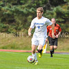 Hamilton College M Bobby Chapman (5)<br /> <br /> 10/21/17 1:42:40 PM Men's Soccer: Colby College v Hamilton College, at Love Field, Hamilton College, Clinton, NY<br /> <br /> Final:  Colby 0  Hamilton 2<br /> <br /> Photo by Josh McKee