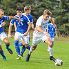 Hamilton College forward Aidan Wood (12)<br /> <br /> 10/21/17 1:42:50 PM Men's Soccer: Colby College v Hamilton College, at Love Field, Hamilton College, Clinton, NY<br /> <br /> Final:  Colby 0  Hamilton 2<br /> <br /> Photo by Josh McKee