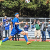 Hamilton College forward Jeffrey Plump (24)<br /> <br /> 10/1/17 1:34:57 PM Men's Soccer: Tufts University v Hamilton College, at Love Field, Hamilton College, Clinton, NY<br /> <br /> Final:  Tufts 1  Hamilton 0<br /> <br /> Photo by Josh McKee