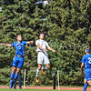 Hamilton College defender Quinn O'Malley (21)<br /> <br /> 10/1/17 1:36:03 PM Men's Soccer: Tufts University v Hamilton College, at Love Field, Hamilton College, Clinton, NY<br /> <br /> Final:  Tufts 1  Hamilton 0<br /> <br /> Photo by Josh McKee