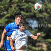 Hamilton College M Eli Morris (13)<br /> <br /> 10/1/17 1:38:58 PM Men's Soccer: Tufts University v Hamilton College, at Love Field, Hamilton College, Clinton, NY<br /> <br /> Final:  Tufts 1  Hamilton 0<br /> <br /> Photo by Josh McKee