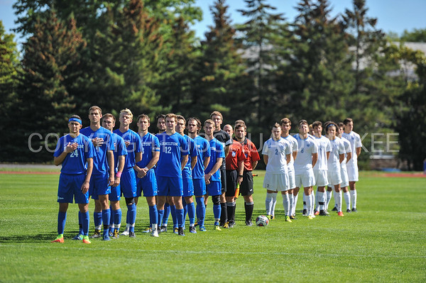 Team<br /> <br /> 10/1/17 1:29:02 PM Men's Soccer: Tufts University v Hamilton College, at Love Field, Hamilton College, Clinton, NY<br /> <br /> Final:  Tufts 1  Hamilton 0<br /> <br /> Photo by Josh McKee