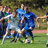 Hamilton College M Bobby Chapman (5)<br /> <br /> 10/1/17 1:34:23 PM Men's Soccer: Tufts University v Hamilton College, at Love Field, Hamilton College, Clinton, NY<br /> <br /> Final:  Tufts 1  Hamilton 0<br /> <br /> Photo by Josh McKee