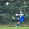 Hamilton College goalkeeper Pete Calleri (1)<br /> <br /> 10/11/17 4:18:56 PM Men's Soccer: Utica College v Hamilton College, at Love Field, Hamilton College, Clinton, NY<br /> <br /> Final:  Utica 0  Hamilton 1  2OT<br /> <br /> Photo by Josh McKee