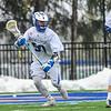 3/25/17 12:25:40 PM Hamilton College Men's Lacrosse v. Amherst College at Steuben Field, Hamilton College, Clinton, NY<br /> <br /> Hamilton College attacker Jordan Fong (50)<br /> <br /> Amherst 17  Hamilton 9<br /> <br /> Photo by Josh McKee