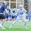 Hamilton College midfielder Matt Saltzman (28)<br /> <br /> 4/4/18 4:56:53 PM Men's Lacrosse: Middlebury College v Hamilton College at Steuben Field, Hamilton College, Clinton, NY<br /> <br /> Photo by Josh McKee