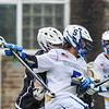 3/25/17 12:35:21 PM Hamilton College Men's Lacrosse v. Amherst College at Steuben Field, Hamilton College, Clinton, NY<br /> <br /> Hamilton College midfielder Jack Gaul (5)<br /> <br /> Amherst 17  Hamilton 9<br /> <br /> Photo by Josh McKee