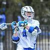 Hamilton College attacker Brendan Burke (4)<br /> <br /> 4/4/18 4:43:03 PM Men's Lacrosse: Middlebury College v Hamilton College at Steuben Field, Hamilton College, Clinton, NY<br /> <br /> Photo by Josh McKee
