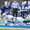 Hamilton College midfielder Eric Zurmuehle (20)<br /> <br /> 4/4/18 4:21:59 PM Men's Lacrosse: Middlebury College v Hamilton College at Steuben Field, Hamilton College, Clinton, NY<br /> <br /> Photo by Josh McKee