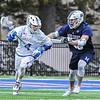 Hamilton College attacker Brendan Burke (4)<br /> <br /> 4/4/18 4:41:35 PM Men's Lacrosse: Middlebury College v Hamilton College at Steuben Field, Hamilton College, Clinton, NY<br /> <br /> Photo by Josh McKee