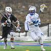 3/25/17 12:51:21 PM Hamilton College Men's Lacrosse v. Amherst College at Steuben Field, Hamilton College, Clinton, NY<br /> <br /> Hamilton College attacker Jordan Fong (50)<br /> <br /> Amherst 17  Hamilton 9<br /> <br /> Photo by Josh McKee