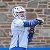 Hamilton College attacker Adam Markhoff (12)<br /> <br /> 4/4/18 4:38:09 PM Men's Lacrosse: Middlebury College v Hamilton College at Steuben Field, Hamilton College, Clinton, NY<br /> <br /> Photo by Josh McKee