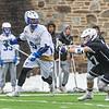 3/25/17 12:49:54 PM Hamilton College Men's Lacrosse v. Amherst College at Steuben Field, Hamilton College, Clinton, NY<br /> <br /> Hamilton College midfielder Jack Gaul (5)<br /> <br /> Amherst 17  Hamilton 9<br /> <br /> Photo by Josh McKee