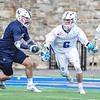 Hamilton College attacker Chris Conley (6)<br /> <br /> 4/4/18 4:23:17 PM Men's Lacrosse: Middlebury College v Hamilton College at Steuben Field, Hamilton College, Clinton, NY<br /> <br /> Photo by Josh McKee
