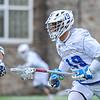 Hamilton College midfielder Alex Choy (19)<br /> <br /> 4/4/18 3:47:13 PM Men's Lacrosse: Middlebury College v Hamilton College at Steuben Field, Hamilton College, Clinton, NY<br /> <br /> Photo by Josh McKee