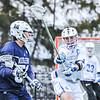 Hamilton College defender Matt Greene (10)<br /> <br /> 4/4/18 4:29:33 PM Men's Lacrosse: Middlebury College v Hamilton College at Steuben Field, Hamilton College, Clinton, NY<br /> <br /> Photo by Josh McKee