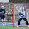 Hamilton College goalkeeper Kyle Gately (33)<br /> <br /> 4/4/18 3:46:23 PM Men's Lacrosse: Middlebury College v Hamilton College at Steuben Field, Hamilton College, Clinton, NY<br /> <br /> Photo by Josh McKee