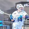Hamilton College midfielder Zach Larsen (14)<br /> <br /> 4/4/18 4:17:22 PM Men's Lacrosse: Middlebury College v Hamilton College at Steuben Field, Hamilton College, Clinton, NY<br /> <br /> Photo by Josh McKee