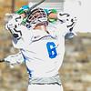 Hamilton College attacker Chris Conley (6)<br /> <br /> 4/4/18 4:14:25 PM Men's Lacrosse: Middlebury College v Hamilton College at Steuben Field, Hamilton College, Clinton, NY<br /> <br /> Photo by Josh McKee