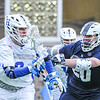 Hamilton College midfielder Brock Bowers (8)<br /> <br /> 4/4/18 5:05:41 PM Men's Lacrosse: Middlebury College v Hamilton College at Steuben Field, Hamilton College, Clinton, NY<br /> <br /> Photo by Josh McKee