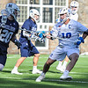 Hamilton College defender Matt Greene (10)<br /> <br /> 4/4/18 3:38:51 PM Men's Lacrosse: Middlebury College v Hamilton College at Steuben Field, Hamilton College, Clinton, NY<br /> <br /> Photo by Josh McKee