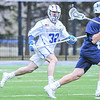 Hamilton College long stick midfielder Jack Warren (32)<br /> <br /> 4/4/18 5:15:37 PM Men's Lacrosse: Middlebury College v Hamilton College at Steuben Field, Hamilton College, Clinton, NY<br /> <br /> Photo by Josh McKee