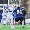 Hamilton College attacker Clay McCollum (18)<br /> <br /> 4/4/18 4:19:46 PM Men's Lacrosse: Middlebury College v Hamilton College at Steuben Field, Hamilton College, Clinton, NY<br /> <br /> Photo by Josh McKee