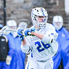 Hamilton College midfielder Christian Hansson (26)<br /> <br /> 4/4/18 5:10:38 PM Men's Lacrosse: Middlebury College v Hamilton College at Steuben Field, Hamilton College, Clinton, NY<br /> <br /> Photo by Josh McKee