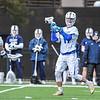 Hamilton College midfielder Henry Hill (11)<br /> <br /> 4/4/18 4:41:10 PM Men's Lacrosse: Middlebury College v Hamilton College at Steuben Field, Hamilton College, Clinton, NY<br /> <br /> Photo by Josh McKee