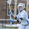 Hamilton College defender Matt Greene (10)<br /> <br /> 4/4/18 4:49:27 PM Men's Lacrosse: Middlebury College v Hamilton College at Steuben Field, Hamilton College, Clinton, NY<br /> <br /> Photo by Josh McKee