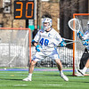 Hamilton College defender Noah Huizenga (48)<br /> <br /> 4/4/18 3:41:25 PM Men's Lacrosse: Middlebury College v Hamilton College at Steuben Field, Hamilton College, Clinton, NY<br /> <br /> Photo by Josh McKee