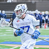 Hamilton College long stick midfielder Quinn Morris (77)<br /> <br /> 4/4/18 4:57:21 PM Men's Lacrosse: Middlebury College v Hamilton College at Steuben Field, Hamilton College, Clinton, NY<br /> <br /> Photo by Josh McKee