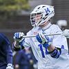 Hamilton College midfielder Zach Larsen (14)<br /> <br /> 4/4/18 3:45:12 PM Men's Lacrosse: Middlebury College v Hamilton College at Steuben Field, Hamilton College, Clinton, NY<br /> <br /> Photo by Josh McKee