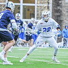 Hamilton College midfielder Matt Saltzman (28)<br /> <br /> 4/4/18 4:56:53 PM Men's Lacrosse: Middlebury College v Hamilton College at Steuben Field, Hamilton College, Clinton, NY<br /> <br /> Photo by Josh McKee