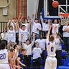 2/9/18 7:19:19 PM Men's Basketball:  #5 Middlebury College v #15 Hamilton College at Margaret Bundy Scott Field House, Hamilton College, Clinton, NY<br /> <br /> Final: #5 Middlebury 83   #15 Hamilton 102<br /> <br /> Photo by Josh McKee