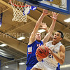 Hamilton College guard Kena Gilmour (24)<br /> <br /> 11/28/17 7:07:49 PM Men's Basketball: SUNY New Paltz v Hamilton College at Margaret Bundy Scott Field House, Hamilton College, Clinton, NY<br /> <br /> Final:  SUNY New Paltz 66   Hamilton 104 <br /> <br /> Photo by Josh McKee