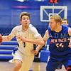 Hamilton College guard Tim Doyle (0)<br /> <br /> 11/28/17 7:08:42 PM Men's Basketball: SUNY New Paltz v Hamilton College at Margaret Bundy Scott Field House, Hamilton College, Clinton, NY<br /> <br /> Final:  SUNY New Paltz 66   Hamilton 104 <br /> <br /> Photo by Josh McKee