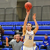 Hamilton College forward Michael Grassey (15)<br /> <br /> 11/28/17 7:06:38 PM Men's Basketball: SUNY New Paltz v Hamilton College at Margaret Bundy Scott Field House, Hamilton College, Clinton, NY<br /> <br /> Final:  SUNY New Paltz 66   Hamilton 104 <br /> <br /> Photo by Josh McKee